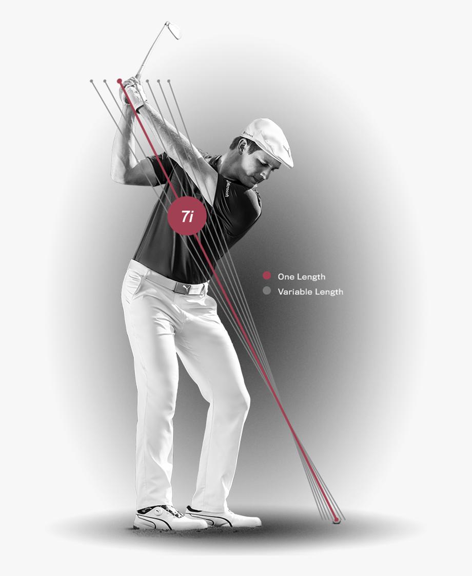 Golfing clipart golf bag. Golfer drawing same length