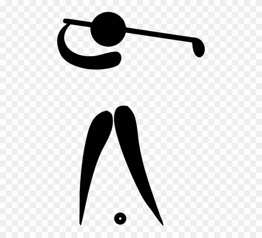 Golfer clipart logo. Funny golf buy clip