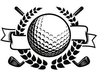 X il free cliparts. Golfer clipart logo