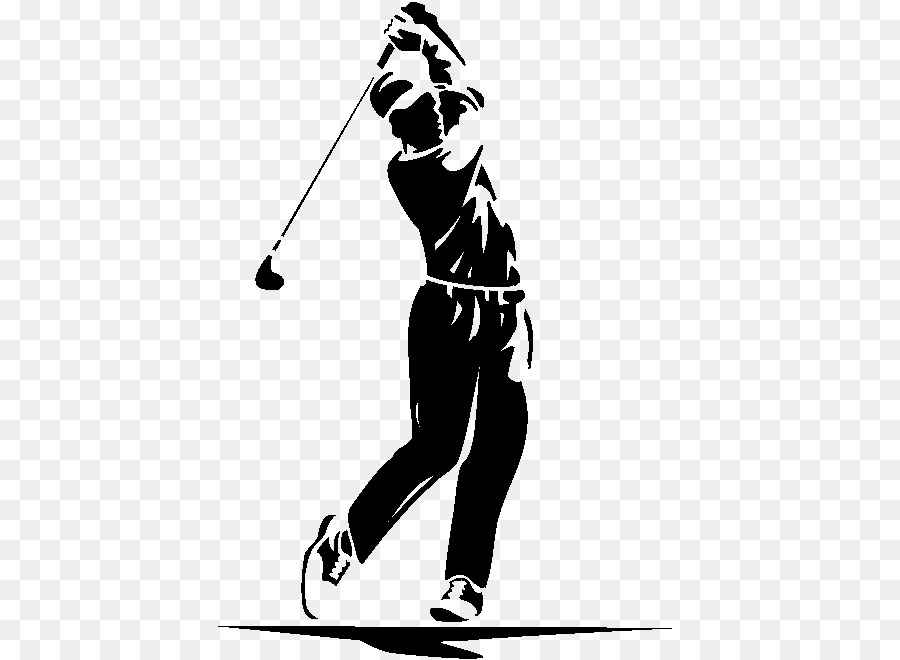 Golfer clipart men's. Golf background clothing black