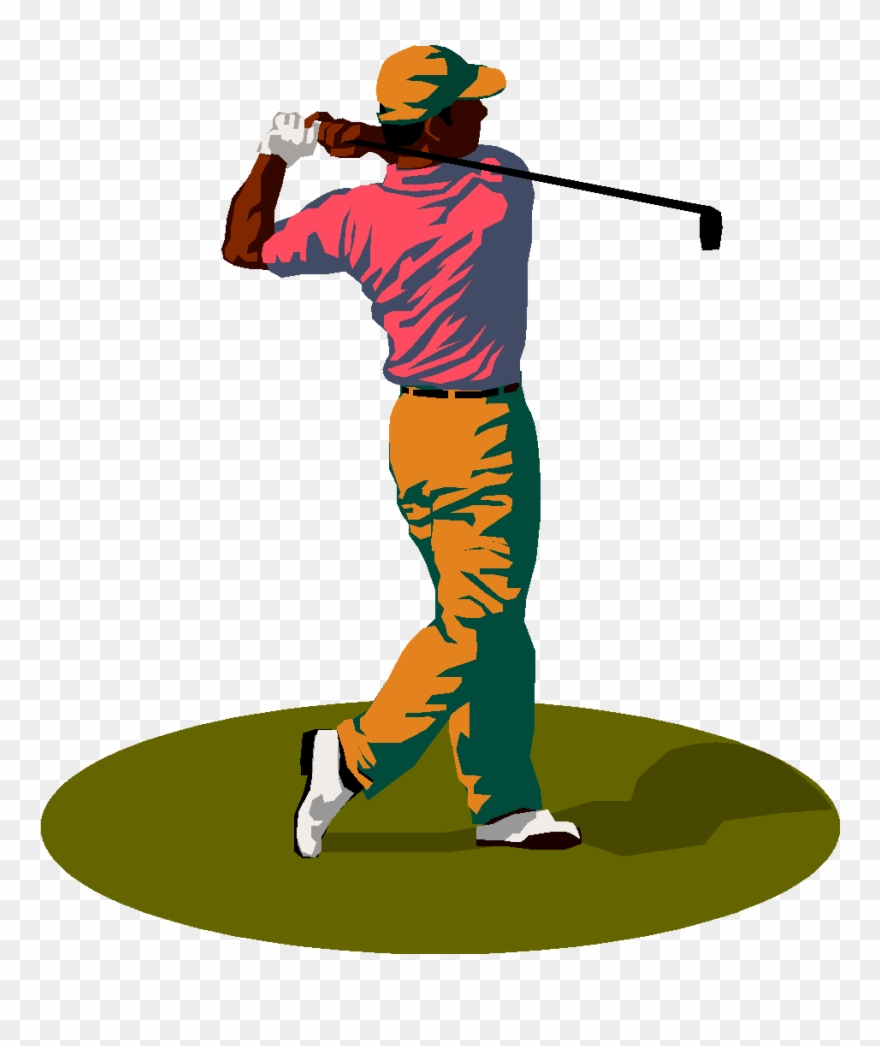 From dan haas columbus. Golfer clipart men's