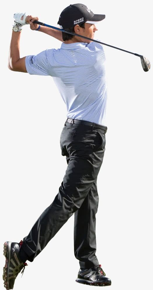 Men s golf png. Golfer clipart men's