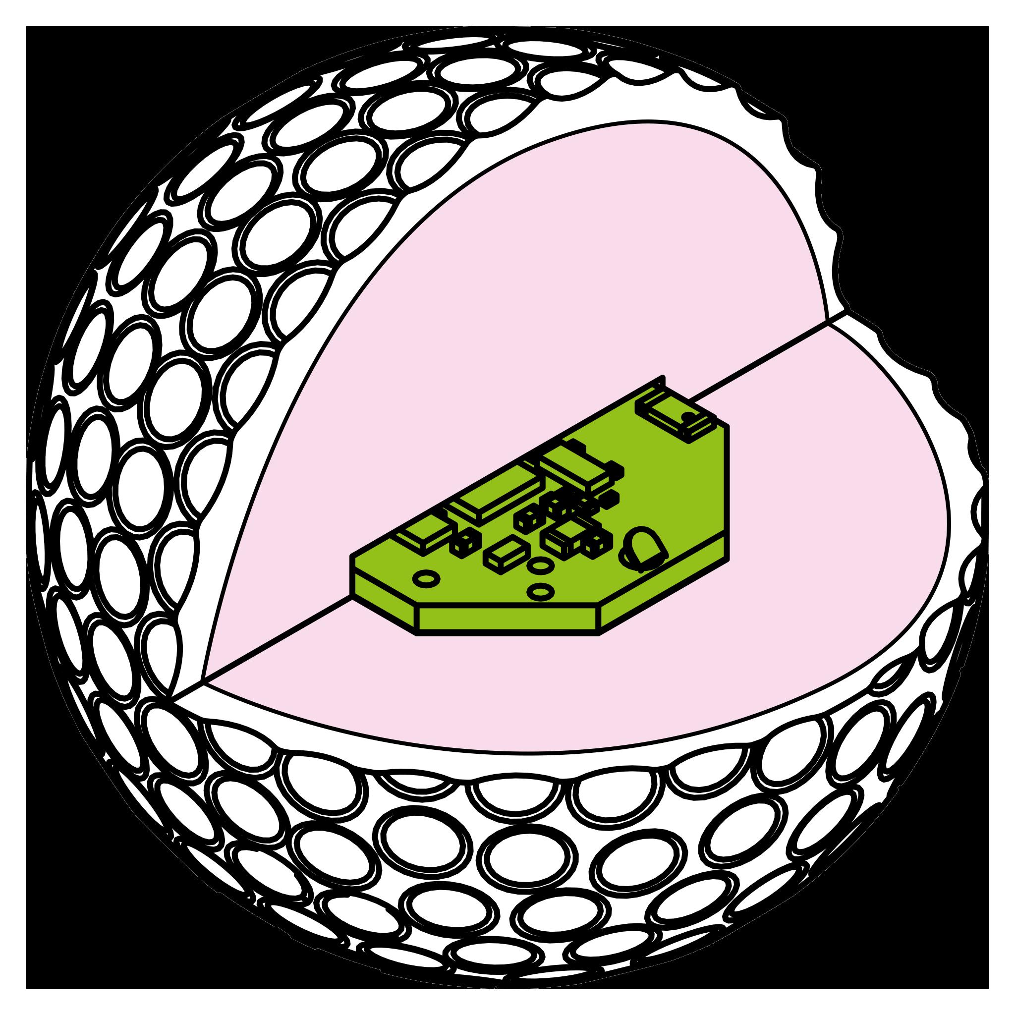 Golfer clipart pencil drawing. Golf ball at getdrawings