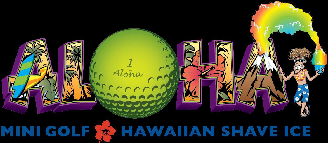 Aloha n putt to. Golfer clipart pitch