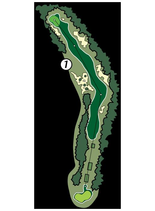 Mountain golf hole st. Golfer clipart shadow