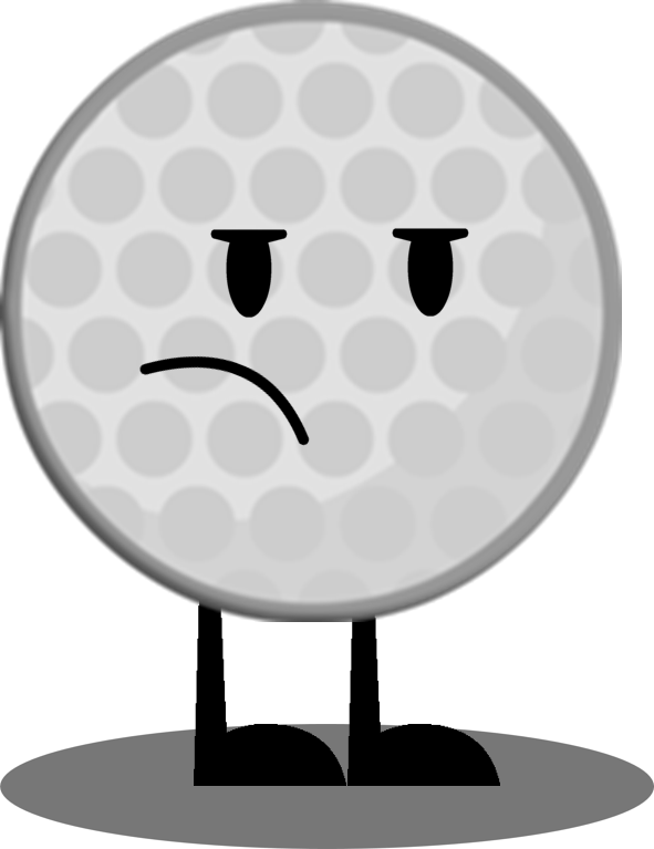 Golfer clipart shadow. Image golf ball with