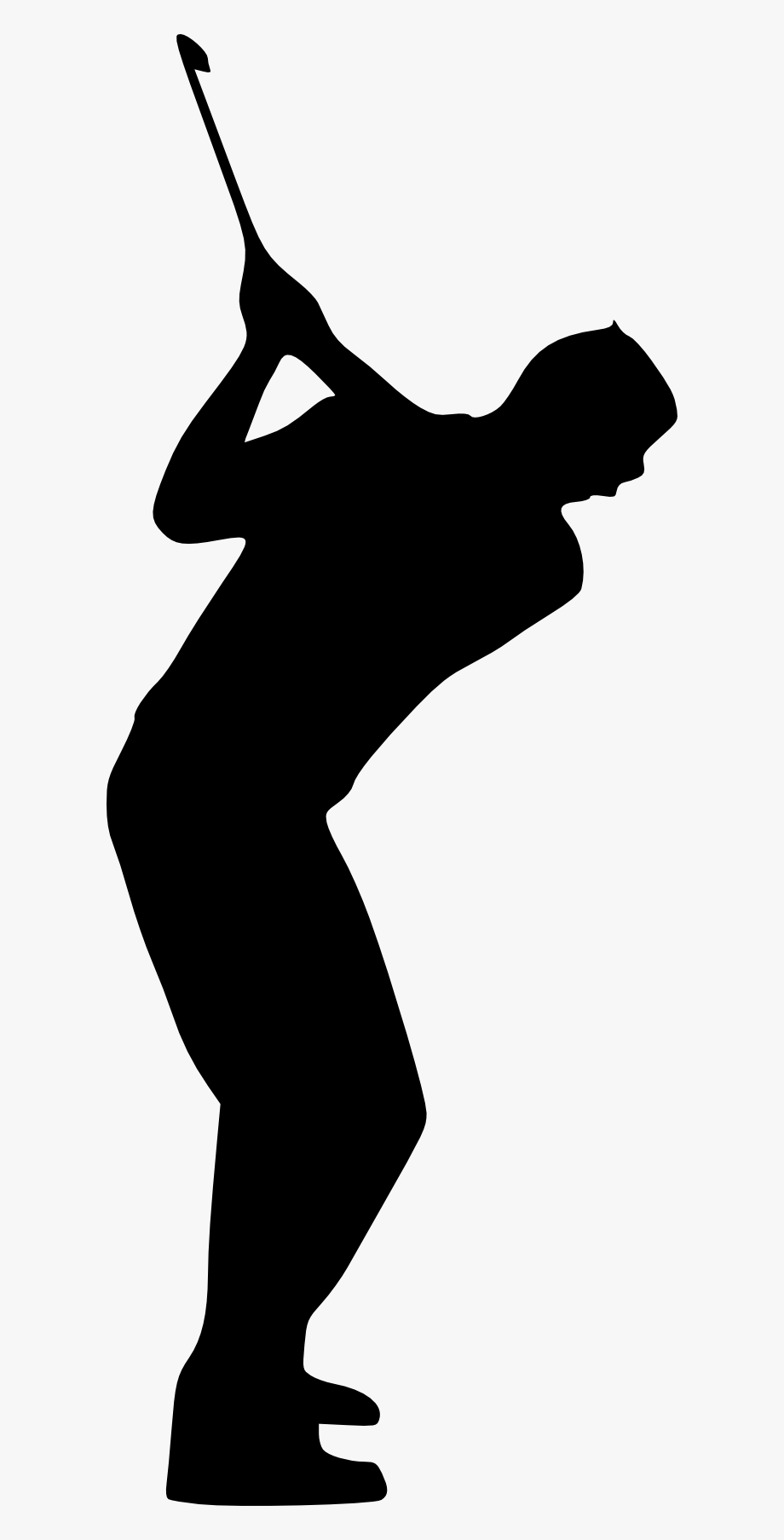 Golfer clipart transparent background. Stock golf course silhouette