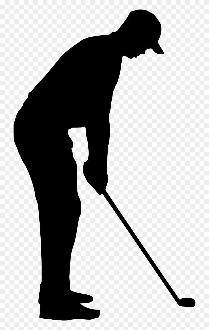 Golfing retro sport . Golf clipart transparent background