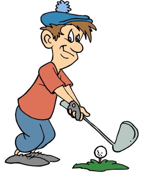 Golf clip art to. Golfing clipart