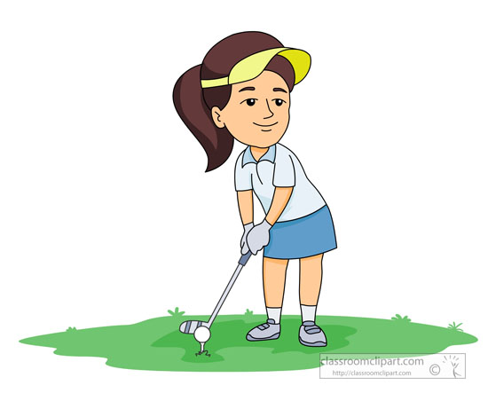Golfer clipart. Sports free golf to