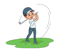 Search results for golf. Golfing clipart boy