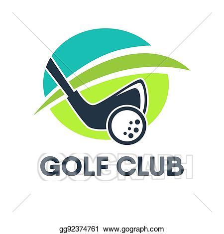 Golfing clipart country club. Clip art vector golf
