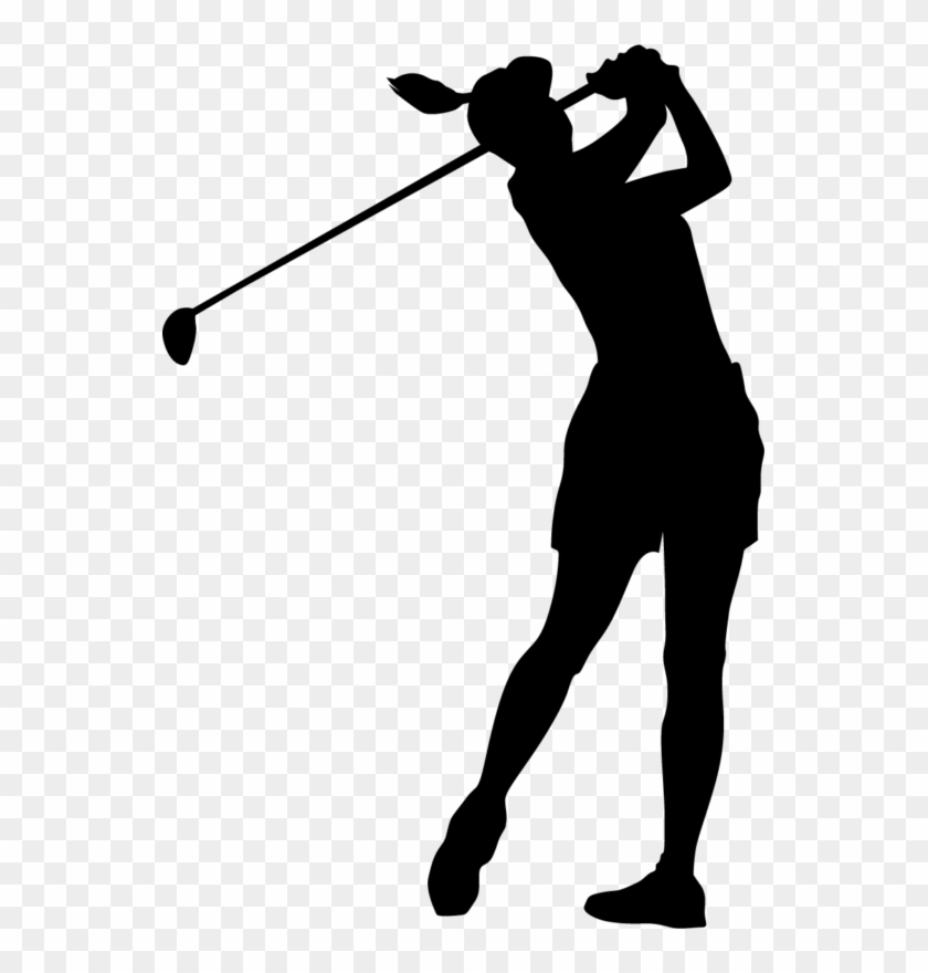 Free golf funny clip. Golfing clipart female golfer
