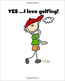Golfing clipart golf stick. I love daily planner