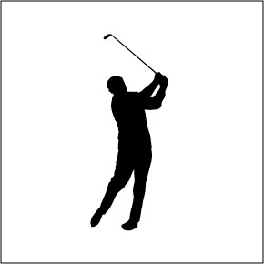 Golfer for you image. Golfing clipart golf wedge