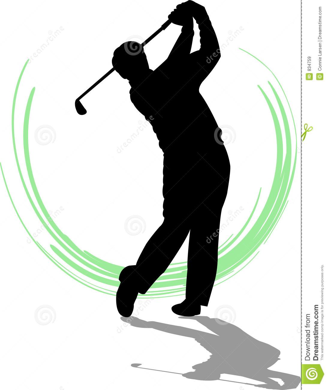 Golfing clipart male golfer. Golf club silhouette free