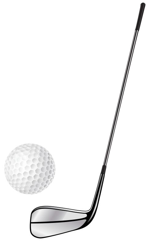 Golf club stick and. Golfing clipart transparent background