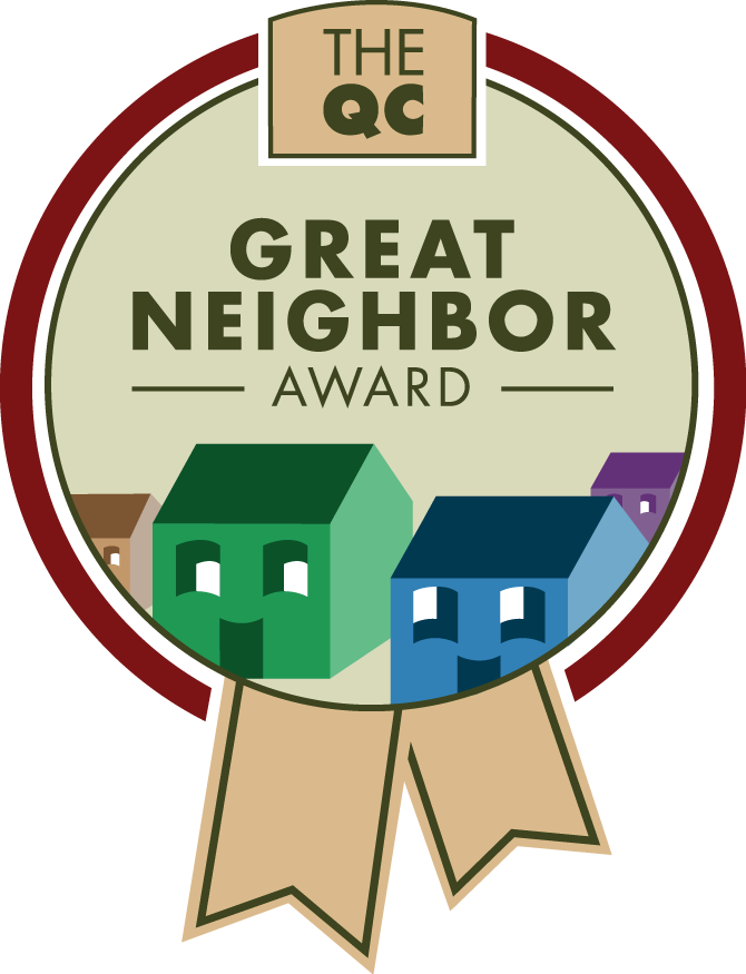 Great neighbor award queen. Proud clipart recognition program