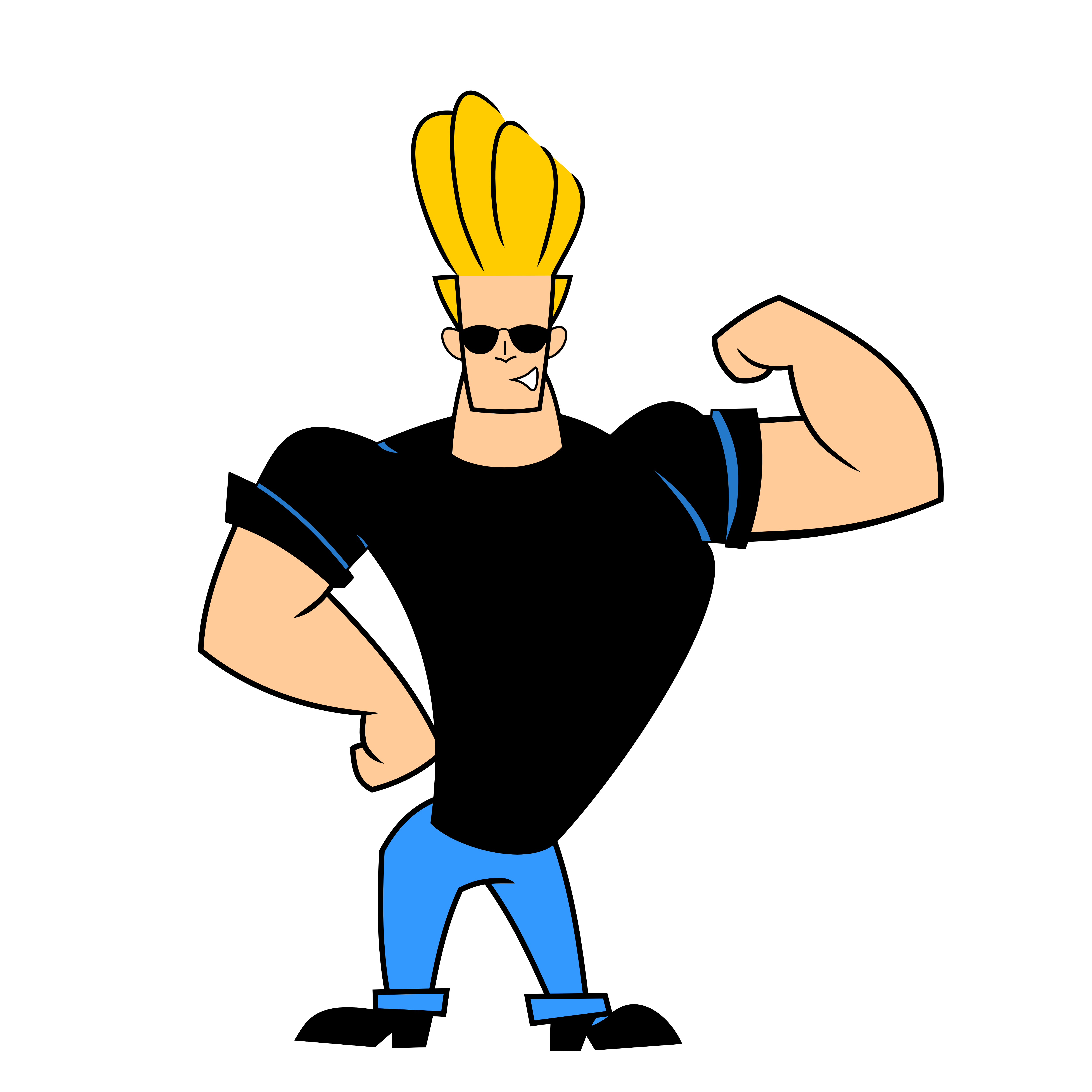 Scooby doo clipart glorious. Johnny bravo google search
