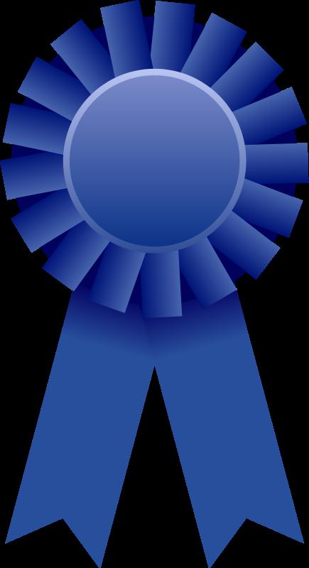 Graduation clipart ribbon. Free two award ribbons