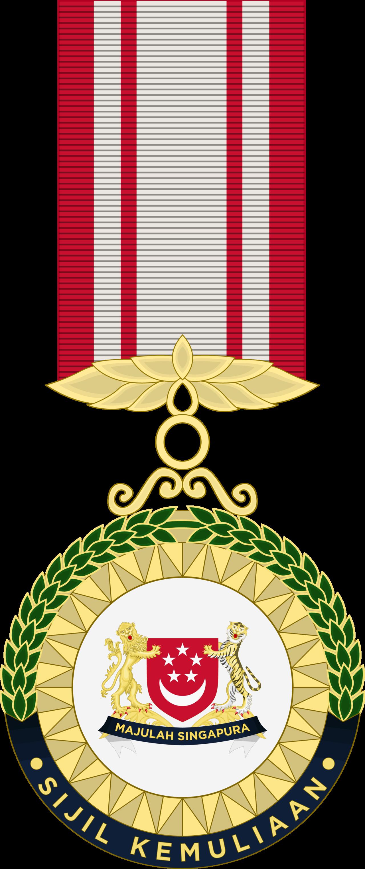 Sijil kemuliaan of honour. Good clipart medal certificate