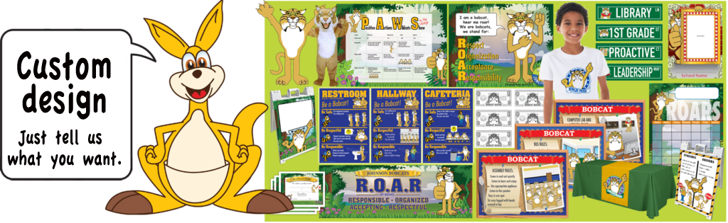 Organized clipart content page. Kangaroo mascot junction pbis