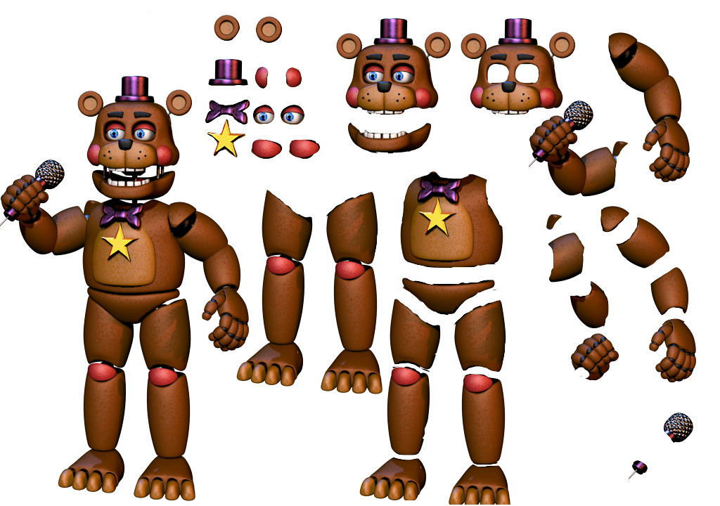 Youtube clipart fnaf. Resource rockstar freddy v