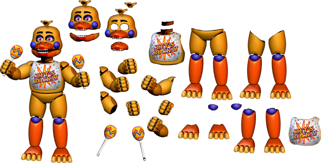 Youtube clipart fnaf. Resource rockstar chica v