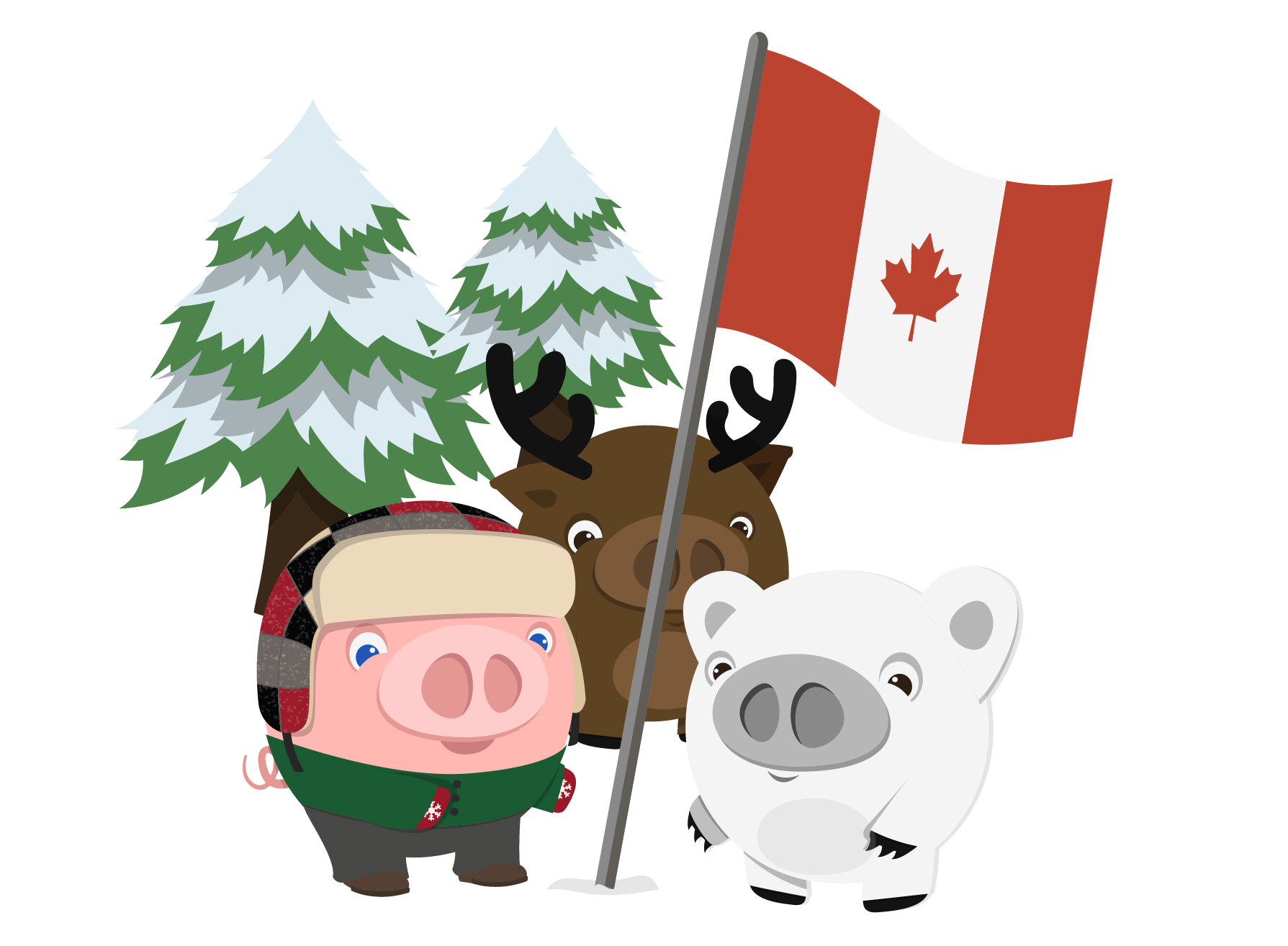 Fxpig canada the best. Proud clipart prowess
