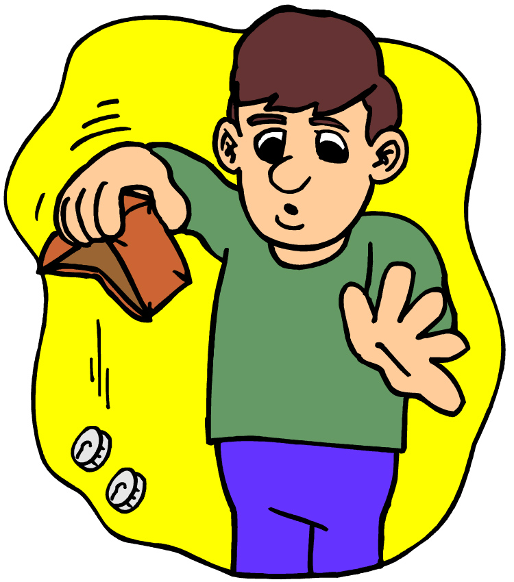 Free cliparts download clip. Wallet clipart enough money