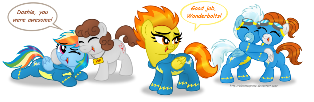 Thumb clipart well done. Commission wonderbolts by aleximusprime