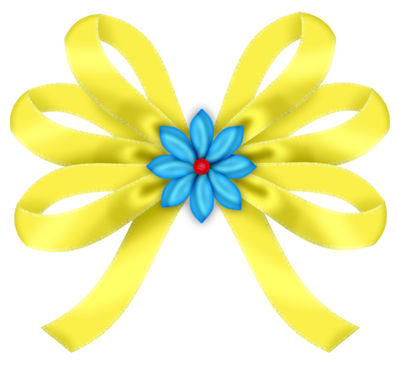 Paper clip art transprent. Good clipart yellow ribbon