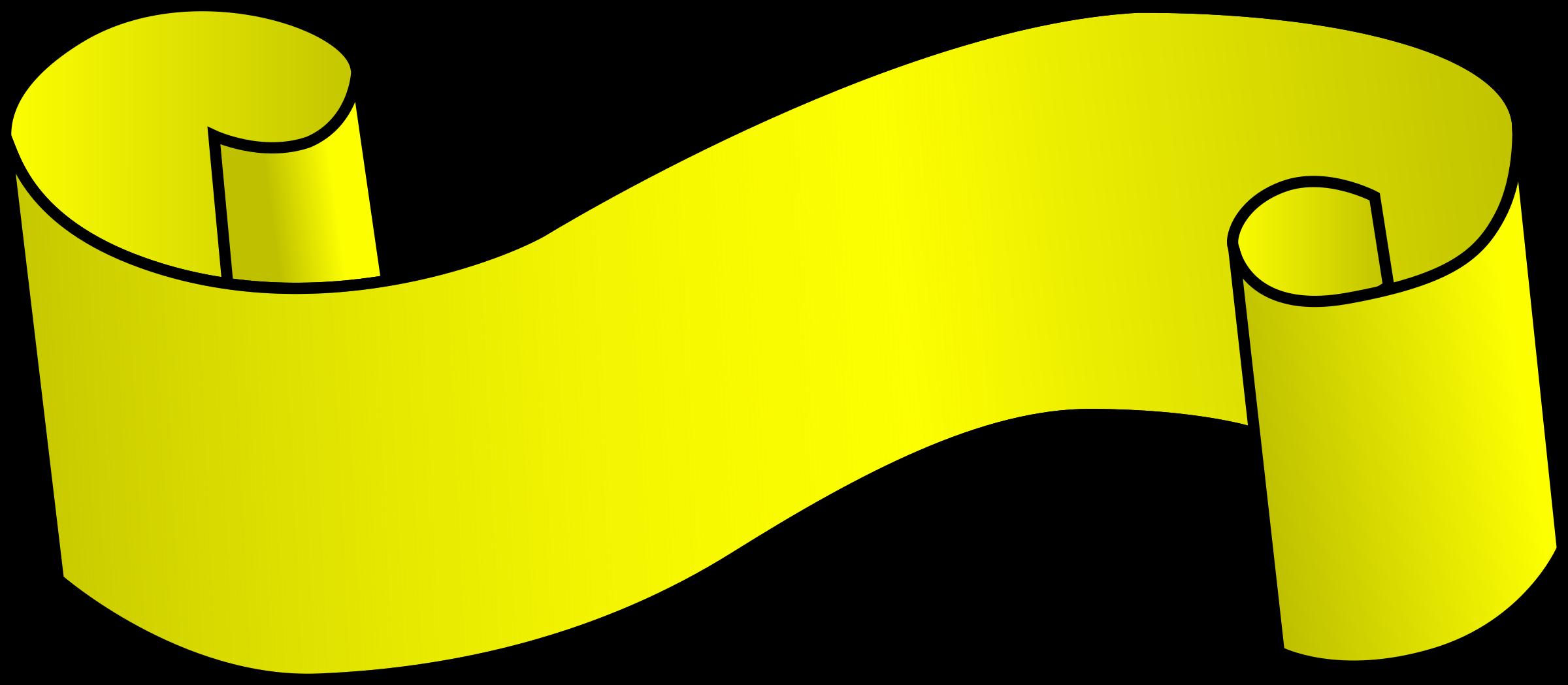 Big image png. Good clipart yellow ribbon