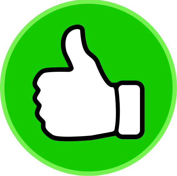 collection of yes. Thumb clipart circle