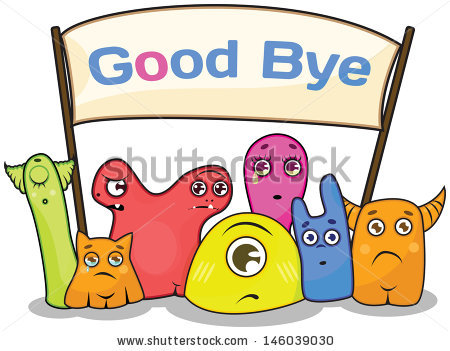 Group . Goodbye clipart