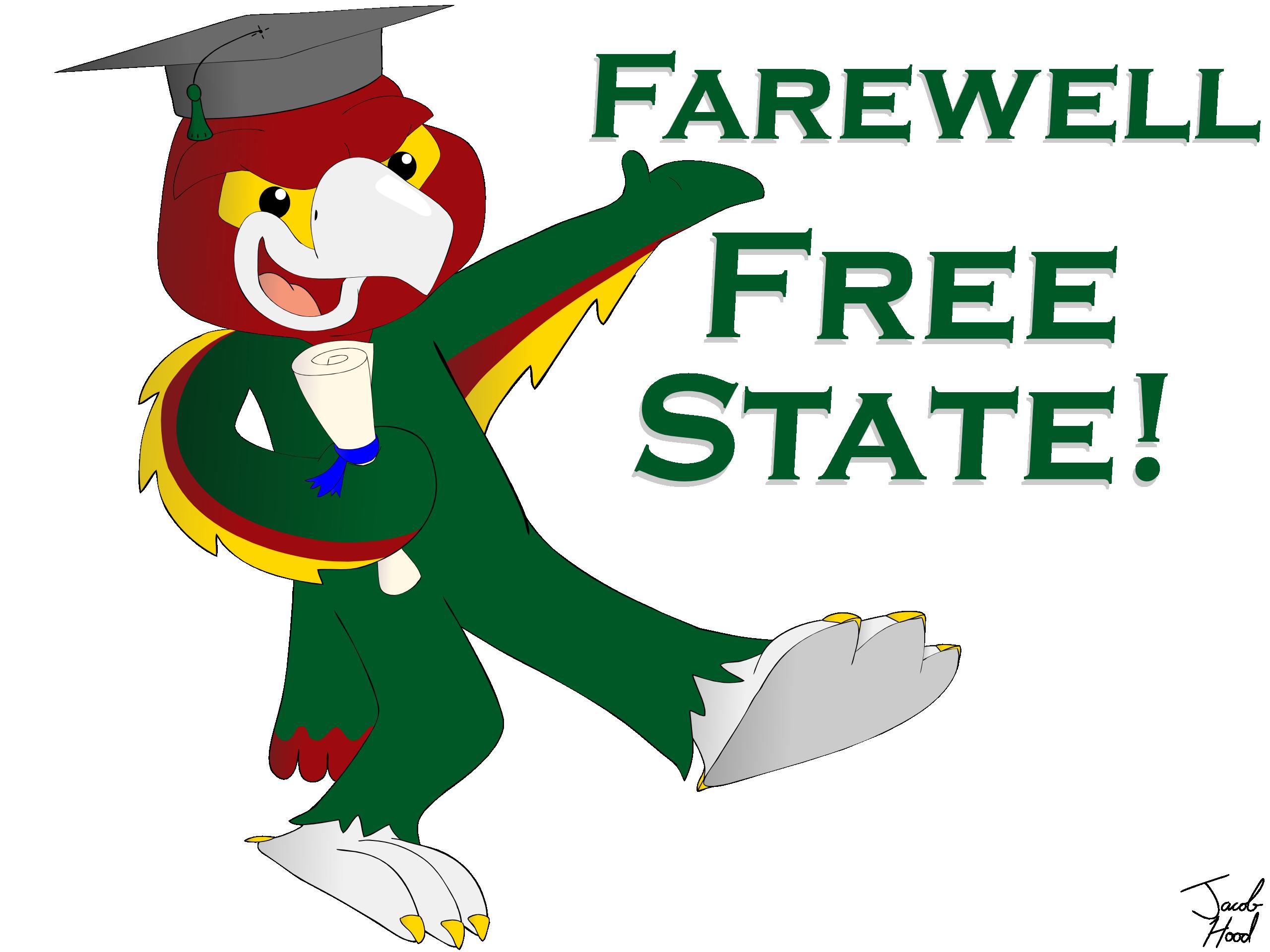 The jacob hood website. Graduate clipart school farewell