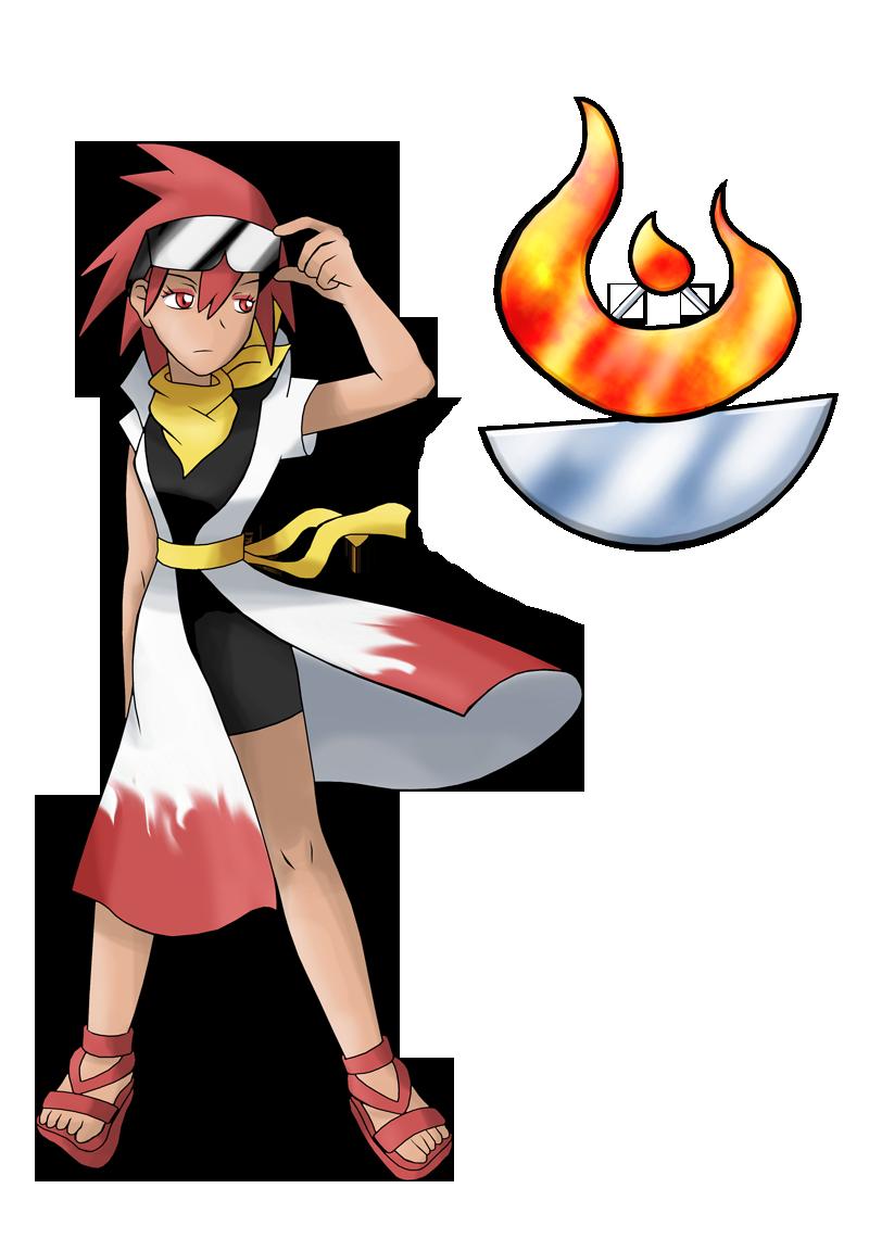 Gym clipart gym guy. Pokemon ff leader mckenzie