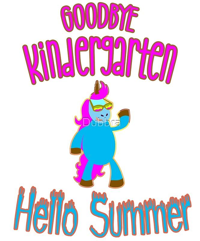 Hello summer art print. Goodbye clipart kindergarten