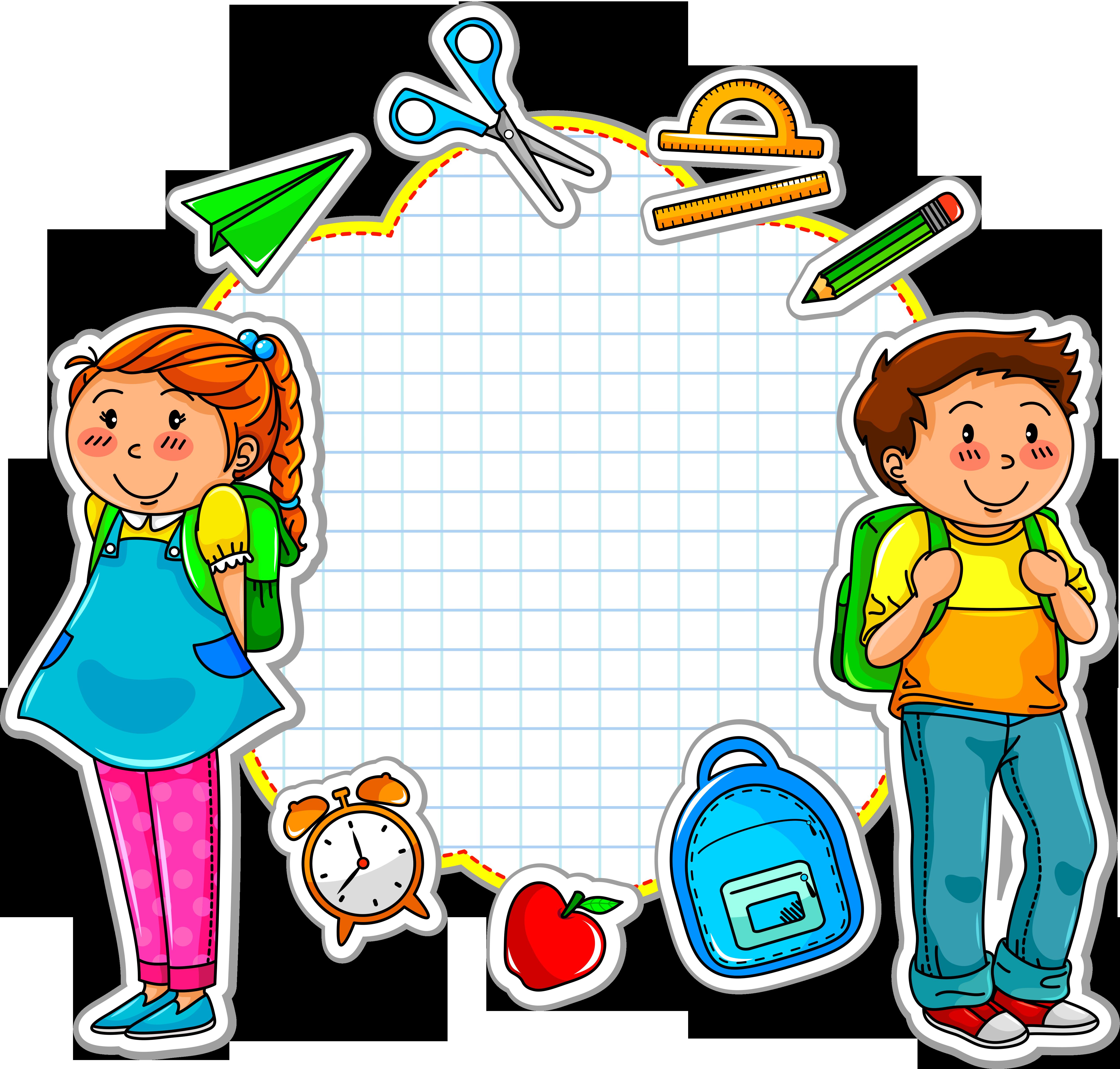 Goodbye clipart kindergarten. School paper pin clip
