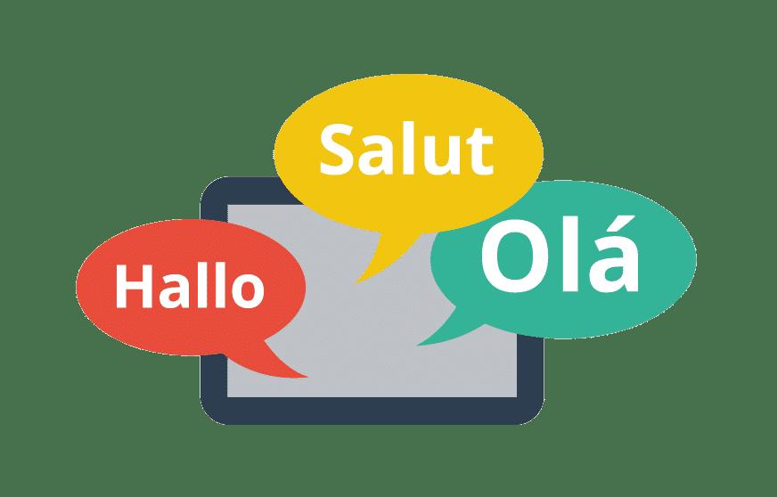 Goodbye multiple language