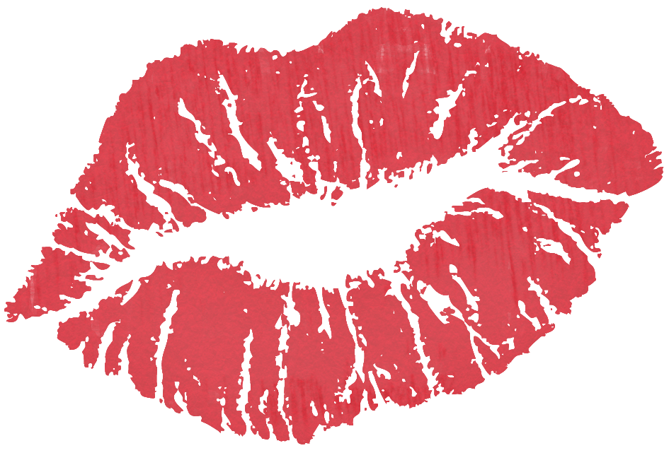 Kiss clipart realistic. Red png quotes pinterest