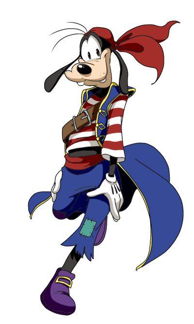 Pirate clipart goofy. By pixiv net disney