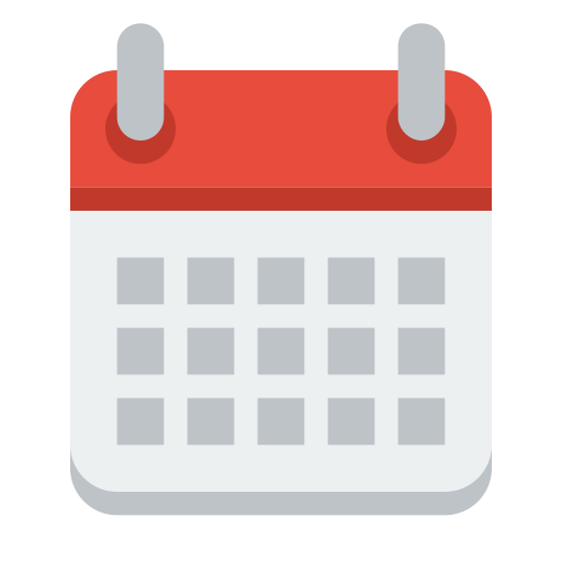 Small n flat by. Google calendar icon png