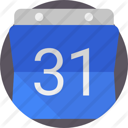 Free brands and logotypes. Google calendar icon png