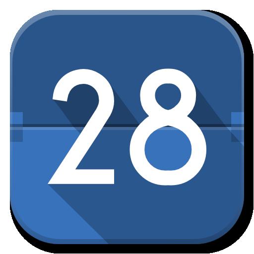 Google calendar icon png. Apps flatwoken iconset alecive