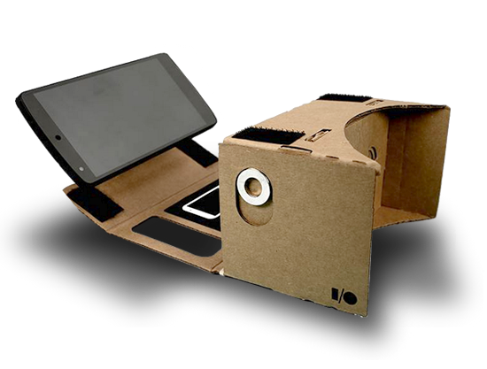 Google cardboard png. Near sighted a virtual