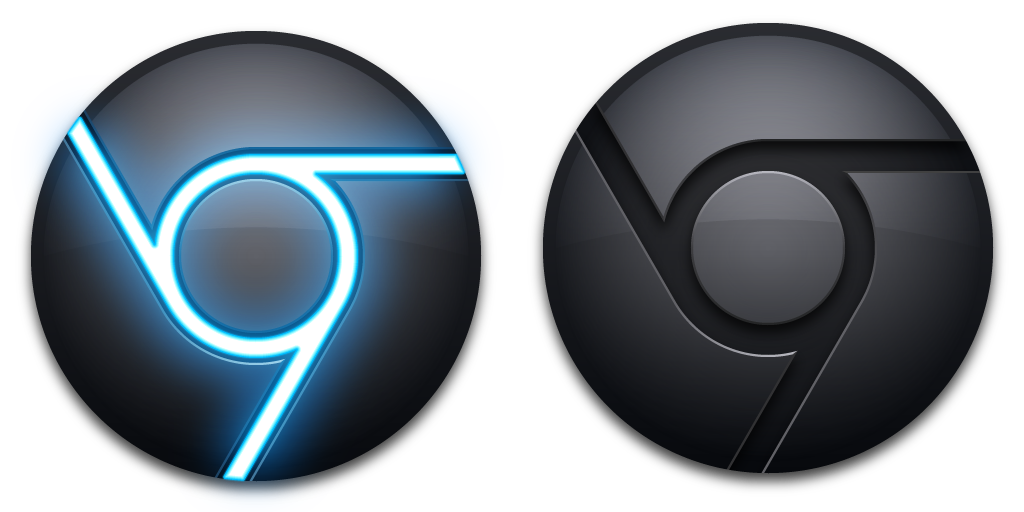 Google chrome icon png. Blue black mkii by
