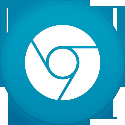 Circle iconset martz file. Chrome icon png