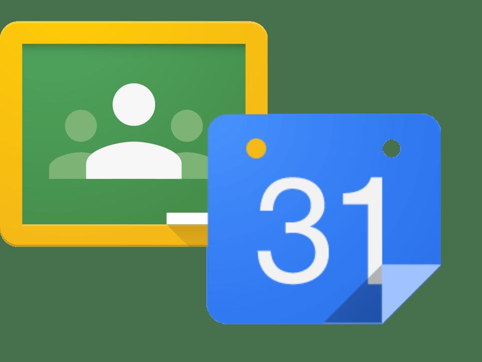 Creating an assignment calendar. Google classroom png