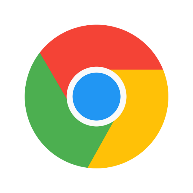 Logo template for free. Google chrome icon png